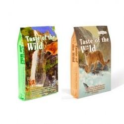 Taste of the wild - Pack 2 Sabores para gatos