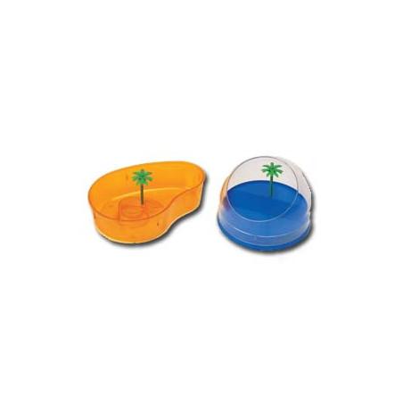 Tortuguera Oval Con Plamera