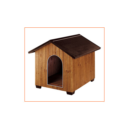 Caseta para Perros de Madera Domus Pequeña