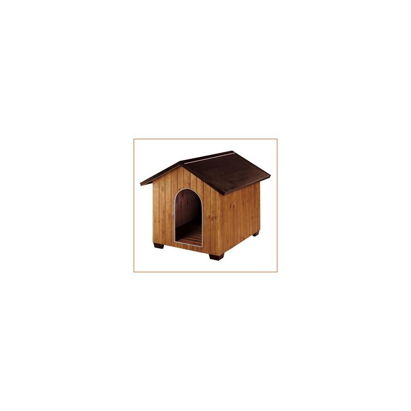 caseta para perros de madera domus grande