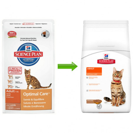 Hill's Feline Optimal Care con Cordero