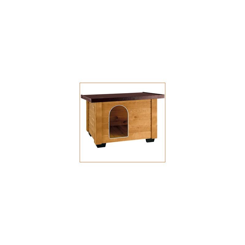 caseta para perros de madera baita mediana
