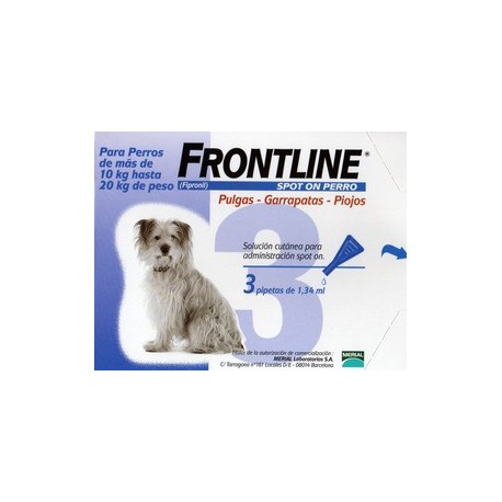 Frontline Spot On Perros de 10-20 Kg