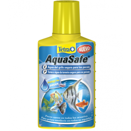 TetraAqua AquaSafe Acondiciona el agua del grifo