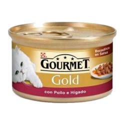 Friskies Gourmet Gold Bocaditos en salsa Pollo e Higado