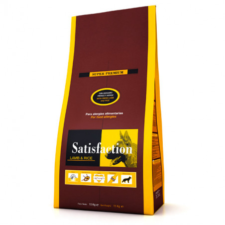 Satisfaction Adult Lamb & Rice 15kg