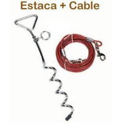 Estaca + Cable