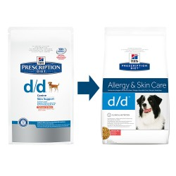 Hill's Prescription Diet Canine d/d Arroz y Salmon