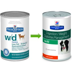 Hill's Prescription Diet Canine w/d Lata