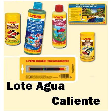 Lote Sera completo Acuario Agua Caliente