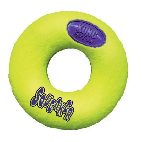 Air Kong Air Squeaker Donut para perros