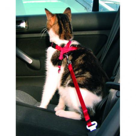 Cinturón de Seguridad Regulable Para Gatos
