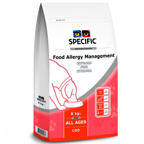 Specific Food Allergy Management CDD