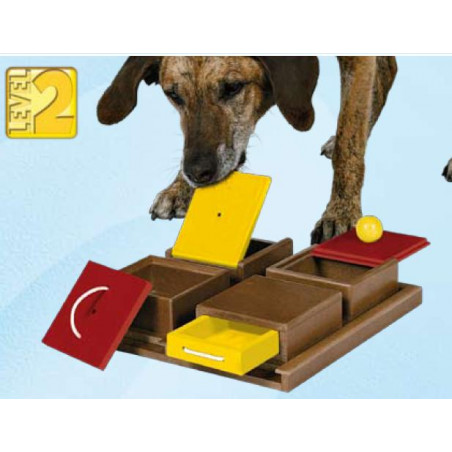Dog Activity Caja Poker