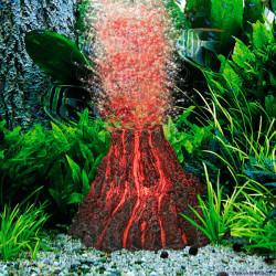 Kit Volcán Decoracion Con Luz Roja