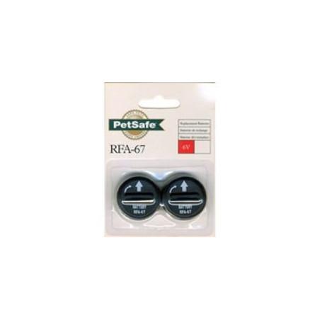 Pack de 2 pilas Collares PetSafe RFA-67