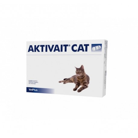 AKTIVAIT Para Gatos 60 Tabletas