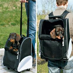 Trolley Mochila para pequeños perros y gatos