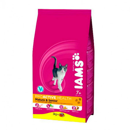 Iams Gato Senior & Mature con pollo