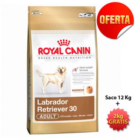 Oferta Royal Canin Labrador Retriever 12kg + 2kg Gratis