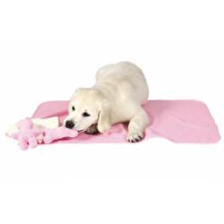 Set Manta, 2 juguetes y toalla Rosa