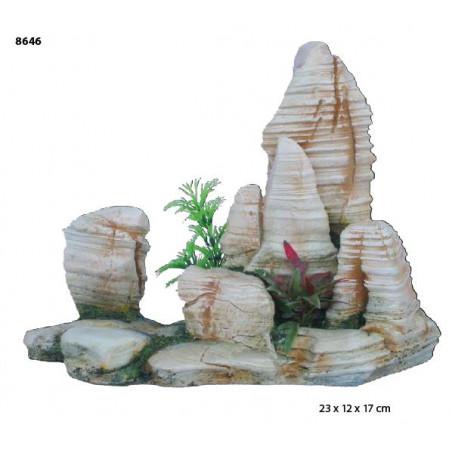Roca Decoración de Terrarios 8646