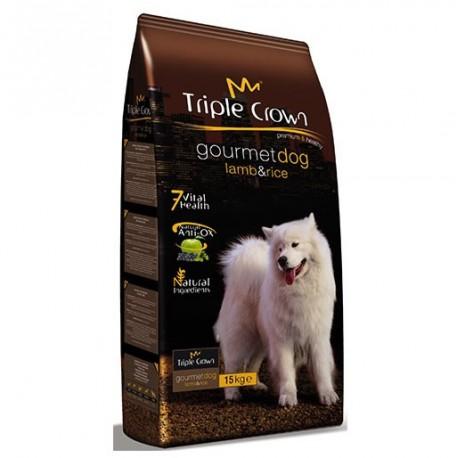 Triple Crown Cordero y Arroz Gourmet Dog