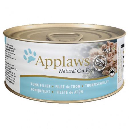 Applaws Lata Filetes de Atún Para Gatos 70g