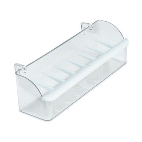 Comedero Pajarera con Ganchos Interior de Plastico