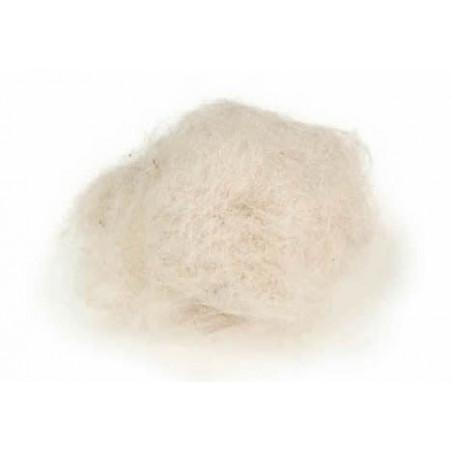Pelo de Cabra Blanco para Nidos 25grs