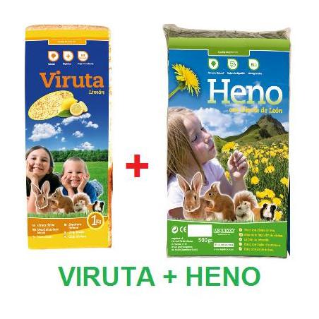 Pack Heno + Viruta de Limón