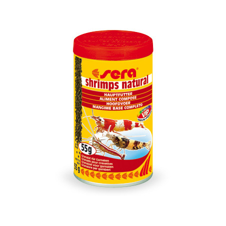 SERA Shrimps Natural Alimento Para Gambas 100ml