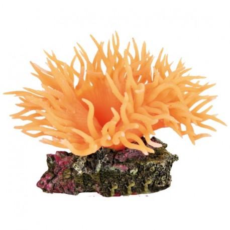 Anémona poliéster, Dulce-salada, Naranja, 8 cm