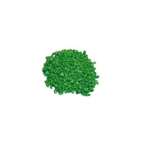 Grava Decorativa Acuario Verde