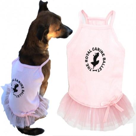 Vestido Bailarina TuTu Rosa