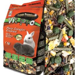 Alimento Para Conejos Enanos Vit Pro