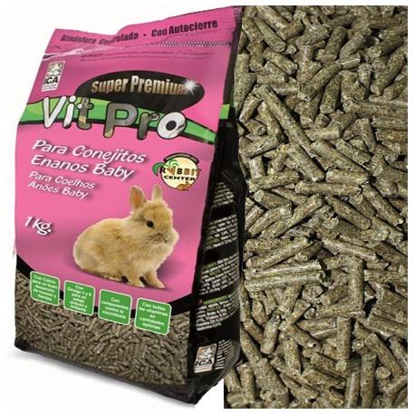 Alimento Para Conejos Enanos Baby Vit Pro