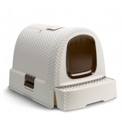 Gatera Curver Litter Box Blanca