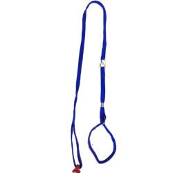 Collar-Ramal Nylon Tubular Azul
