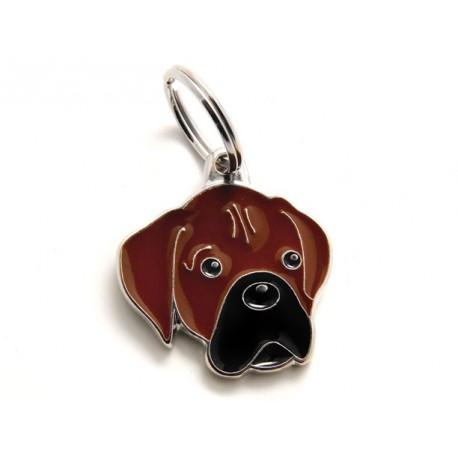 Placa Identificativa Perro Boxer