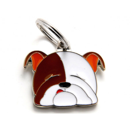 Placa Identificativa Perro Bulldog Inglés