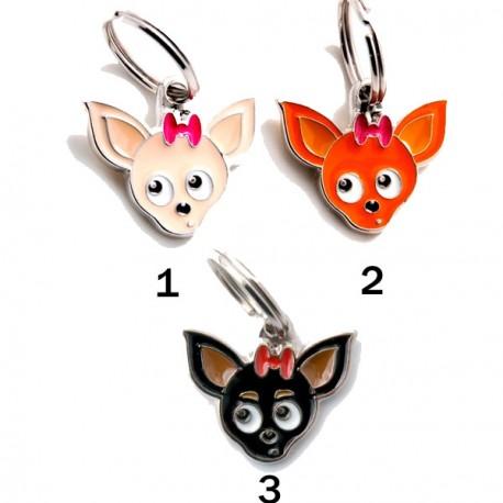 Placa Identificativa Perro Chihuahua