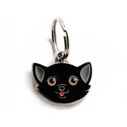 Placa Identificativa Gato Negro
