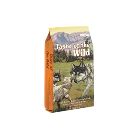 Taste Of The Wild High Prairie Puppy Bisonte y Venado