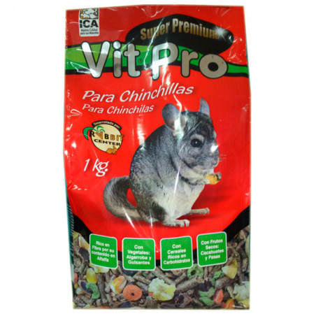 Alimento Chinchillas VitPro Premium