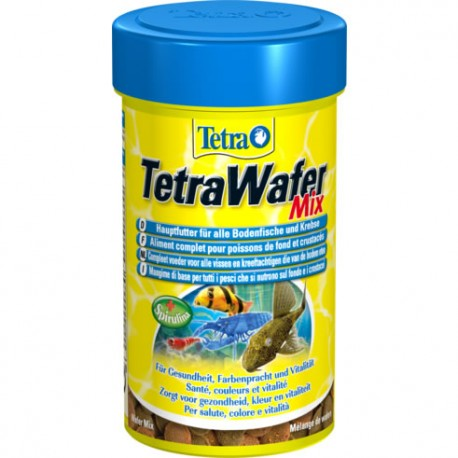 TetraWafer Mix para peces de fondo y crustaceos