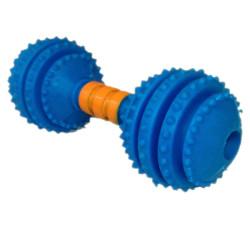 Juguete Pesa Caucho Snack Azul