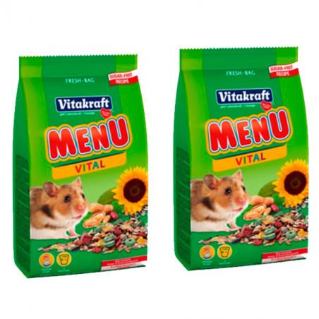 Vitakraft Hamster Menu Vital 2 x 400 Gr