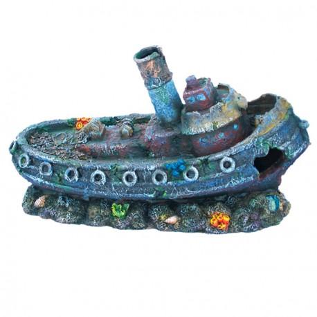 Barco de vapor hundido
