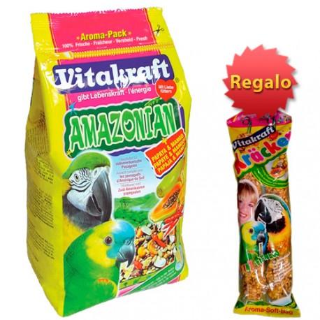 Vitakraft Amazonian + Regalo Barritas Miel